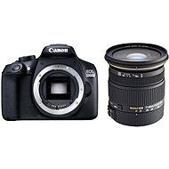 Canon EOS 1300D + Sigma 17-50 mm Objektiv - Digitale Spiegelreflexkamera