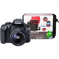 Canon EOS 1300D + EF-S 18-55mm DC III + Canon Starter Kit - Digitális tükörreflexes fényképezőgép