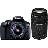 Canon EOS 1300D + 18-55 mm DC III + 75-300 mm DC III - Digitale Spiegelreflexkamera