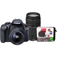 Canon EOS 1300D + 18-55mm DC III + 75-300m DC III + Canon Starter Kit - Digitális tükörreflexes fényképezőgép