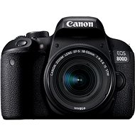 Canon EOS 800D schwarz + 18-55 mm IS STM - Digitale Spiegelreflexkamera