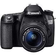 Canon EOS 70D body + 18-55mm IS STM