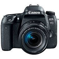 Canon EOS 77D čierny + 18-55mm IS STM