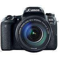 Canon EOS 77D čierny + 18-135mm IS USM - Digitálna zrkadlovka