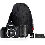 Canon EOS 77D černý + 18-135mm IS USM Value Up Kit - Digitální zrcadlovka