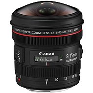 Canon EF 8-15 mm F4.0 L USM Fish-Eye - Objektív