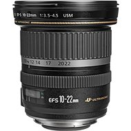 Canon EF-S 10-22 mm F3.5 - 4.5 USM Zoom Black