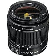 Canon EF-S 18-55mm F3.5 - 5.6 IS II Zoom černý - Objektiv