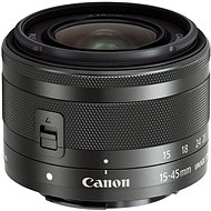 Canon EF-M 15-45mm F3.5 - 6.3 IS STM Graphite - Objektiv