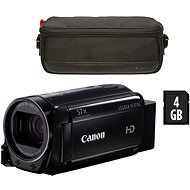 Canon LEGRIA HF R706 black - Essential Kit - Digital Camcorder