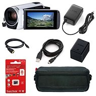 Canon Legria HF R806 Camera White - Essential kit - Digital Camcorder