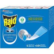 Raid elektrický odpařovač suchý polštářek 1+10 ks