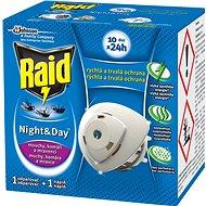 RAID proti komárům a mouchám odpařovač strojek + 1 náplň - Odpuzovač hmyzu