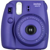 Fujifilm Instax Mini Instant Camera 8S Wine Medium Kit - Digital Camera