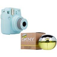 Fujifilm Instax Mini 9 světle modrý + DKNY Be Delicious EdP 100 ml