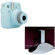 Fujifilm Instax Mini 9 světle modrý + CALVIN KLEIN Euphoria EdP 100 ml