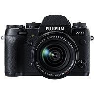 Fujifilm X-T1 Black + objektív 18-55 mm F2.8-4