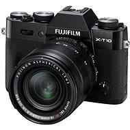 Fujifilm X-T10 Black + lens XF18-55mm