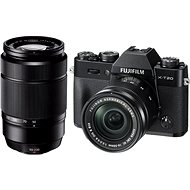 Fujifilm X-T20 Digital Camera Black + XC16-50mm F3.5-5.6 OIS II + XC50-230mm F4.5-6.7 OIS II - Digital Camera