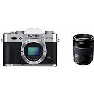Fujifilm X-T10 Silver + objektív XF18-135 mm
