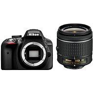 Nikon D3300 + 18-55mm Lens AF-VR P