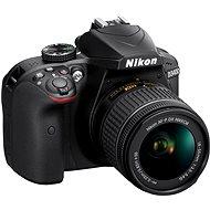 Nikon D3400 Black + 18-55 mm VR AF-P