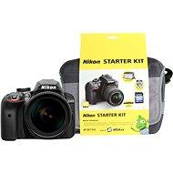 Nikon D3400 fekete + objektív 18-105mm VR + Nikon Starter Kit - Digitális tükörreflexes fényképezőgép