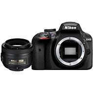 Nikon D3400 černý + 35mm DX - Digitální zrcadlovka
