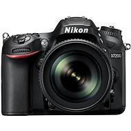 Nikon D7200 Schwarz + 18-105 VR Objektiv AF-S DX