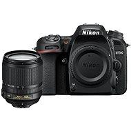 Nikon D7500 fekete + 18-200 mm VR objektív - Digitális tükörreflexes fényképezőgép