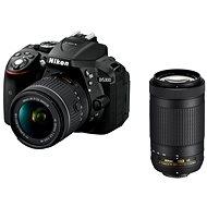 Nikon D5300 Black + 18-55 mm VR AF-P + 70-300 mm VR AF-P