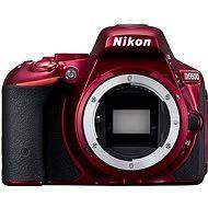 Nikon D5500 červená BODY