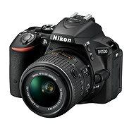 Nikon D5500 + Objektív 18-55 AF-P VR + 55-200 VR II