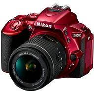 Nikon D5500 RED + lens 18-55 VR AF-P