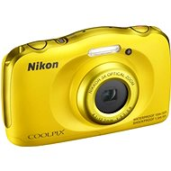 Nikon COOLPIX S33 yellow backpack kit