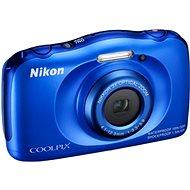 Nikon COOLPIX S33 blue backpack kit