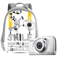 Nikon COOLPIX W100 Weiß backpack kit - Digitalkamera