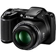 Nikon COOLPIX L340 Schwarz + Behälter