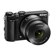 Nikon 1 J5 čierny + objektív 10-30mm