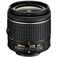 NIKKOR 18-55 mm F3.5-5.6G AF DX VR-P - Lens