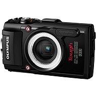 Olympus TOUGH TG-4 černý + LG-1 LED Light Guide - Digitální fotoaparát