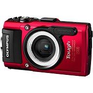 Olympus TOUGH TG-4 červený + LG-1 LED Light Guide - Digitální fotoaparát