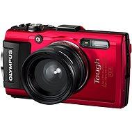 Olympus TOUGH TG-4 červený (TG-4 Fisheye Kit) - Digitální fotoaparát