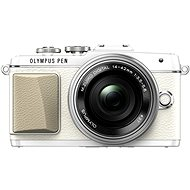 Olympus PEN E-PL7 White + 14-42mm Pancake Zoom Lens