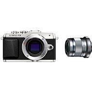 Olympus PEN E-PL7 strieborný Portrait Kit - portrétny 45 mm F1.8 - Digitálny fotoaparát
