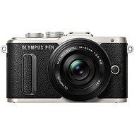 Olympus PEN E-PL8 čierny + Pancake objektív ED 14-42EZ čierny