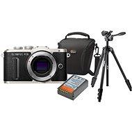 Olympus PEN E-PL8 tělo černé + Olympus Starter Kit - Digitální fotoaparát