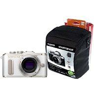 Olympus PEN E-PL8 tělo bílé + Olympus Starter Kit - Digitální fotoaparát