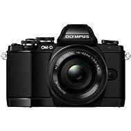 Olympus E-M10 black/black + ED 14-42mm EZ + bateriový grip - Digitální fotoaparát