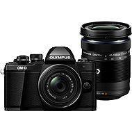 Olympus E-M10 Mark II Pancake black + ED 14-42EZ černý + 40-150mm R černý - Digitální fotoaparát